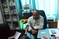 Kepala Biromawa Kamaruddin Salim, S.Sos., M.Si.  saat di wawancarai Tim Humas (2)