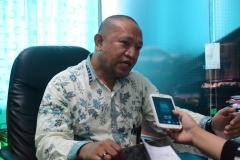 Kepala Biromawa Kamaruddin Salim, S.Sos., M.Si.  saat menjelaskan tentang Bidikmisi (2)
