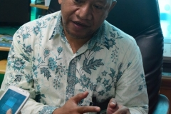 Kepala Biromawa Kamaruddin Salim, S.Sos., M.Si.  saat menjelaskan tentang Bidikmisi (4)