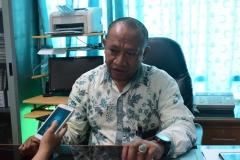 Kepala Biromawa Kamaruddin Salim, S.Sos., M.Si.  saat menjelaskan tentang Bidikmisi