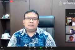 Guru Besar Universitas Prof. Moestopo Beragama Prof. Dr. Andriansyah, M.Si.
