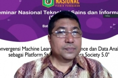 Prof. Iskandar Fitri, S.T., M.T sedang menyampaikan materinya  (2)