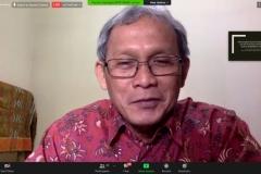 Penyampaian materi dari Sejarawan, Dr. Susanto Zuhdi