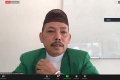 Penyampaian materi oleh Dr. Fachruddin Mangunjaya