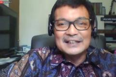 Penyampaian materi oleh ilmuwan islamologi, Dr. Budhy Munawar Rahman