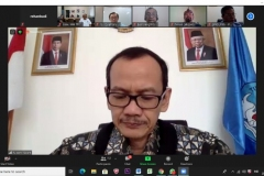 Sambutan dari plt. Direktur Jenderal Pendidikan Tinggi (Dirjen Dikti), Prof. Ir. Nizam, M.Sc., DIC, Ph.D,