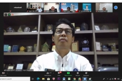 Sambutan dari Kepala LLDIKTI Wilayah III Prof. Agus Setyo Budi