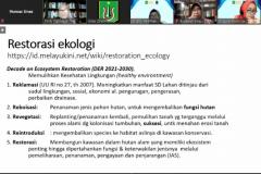 "Pemaparan materi oleh Prof. Dr. Dedy Darnaedi, M.Sc., sebagai pembicara dalam webinar yang diadakan PPM-Unas dan PERAGI Komda DKI dengan tema ""Pengelolaan Lingkungan Berbasis Keanekaragaman Hayati dan Permaculture untuk Mendukung Kehidupan Ekosistem yang Berkelanjutan"" pada hari Jumat, 11 Juni 2021"