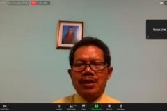 Sambutan dari Dekan Fakultas Bahas a dan Sastra Unas, Drs Somadi, M.Pd