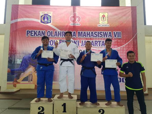 Wira Prabowo mhs prodi HI Fisip Unas merebut Juara 2 cabor Yudo pd Pekan Olahraga Mahasiswa Prov.DKI Jakarta ke VII Th.2018