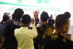 Drs. Drs. Anak Agung Gede Ngurah Puspayoga (Menteri Koperasi dan Usaha Kecil dan Menengah Indonesia) konfrensi pers