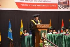 Sambutan Rektor El Amry Bermawi Putera