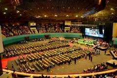 suasana wisuda universitas nasional 2 oktober 2016