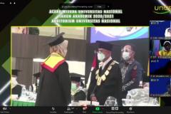 Wisuda Universitas Nasional Periode I Tahun Akademik 20202021, Sabtu 26 Juni 2021