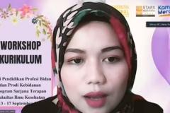 Pembukaan workshop kurikulum oleh MC