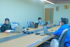 Kegiatan Workshop Partisipatif Studi Evaluasi Proyek HBCC (Hygiene Behavior Change Coalition) di Indonesia yang diselenggarakan oleh PPI Unas pada hari Kamis, 15 April 2021