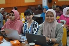 Para dosen yang mengikuti Workshop Pembuatan RPS Blended Learning