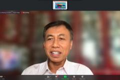 Guru Besar Fakultas Hukum UNHAS, Prof. Dr. Irwansyah, S.H., M.H., sebagai Narasumber dalam kegiatan Workshop Pengelolaan & Akreditasi Jurnal Ilmiah pada hari Senin, 5 Juli 2021