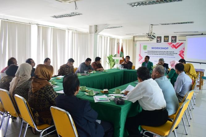 Workshop Pengembangan Kurikulum Ilmu Hukum & Penyusunan RPS Prodi Ilmu Hukum UNAS (5)