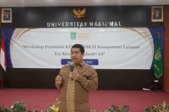 Wakil Rektor Bidang Akademik Prof. Dr. Iskandar Fitri, S.T., M.T.