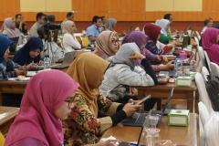 Para dosen yang mengikuti Workshop Portofolio KPT SN-DIKTI Kompetensi Lulusan Era Revolusi Industri 4.0