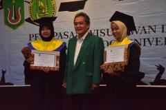 Foto Bersama dekan Fakultas biologi