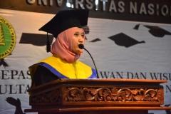 Wisudawati terbaik fakultas biologi