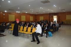 keramaian peserta Yudisium Fakultas Hukum