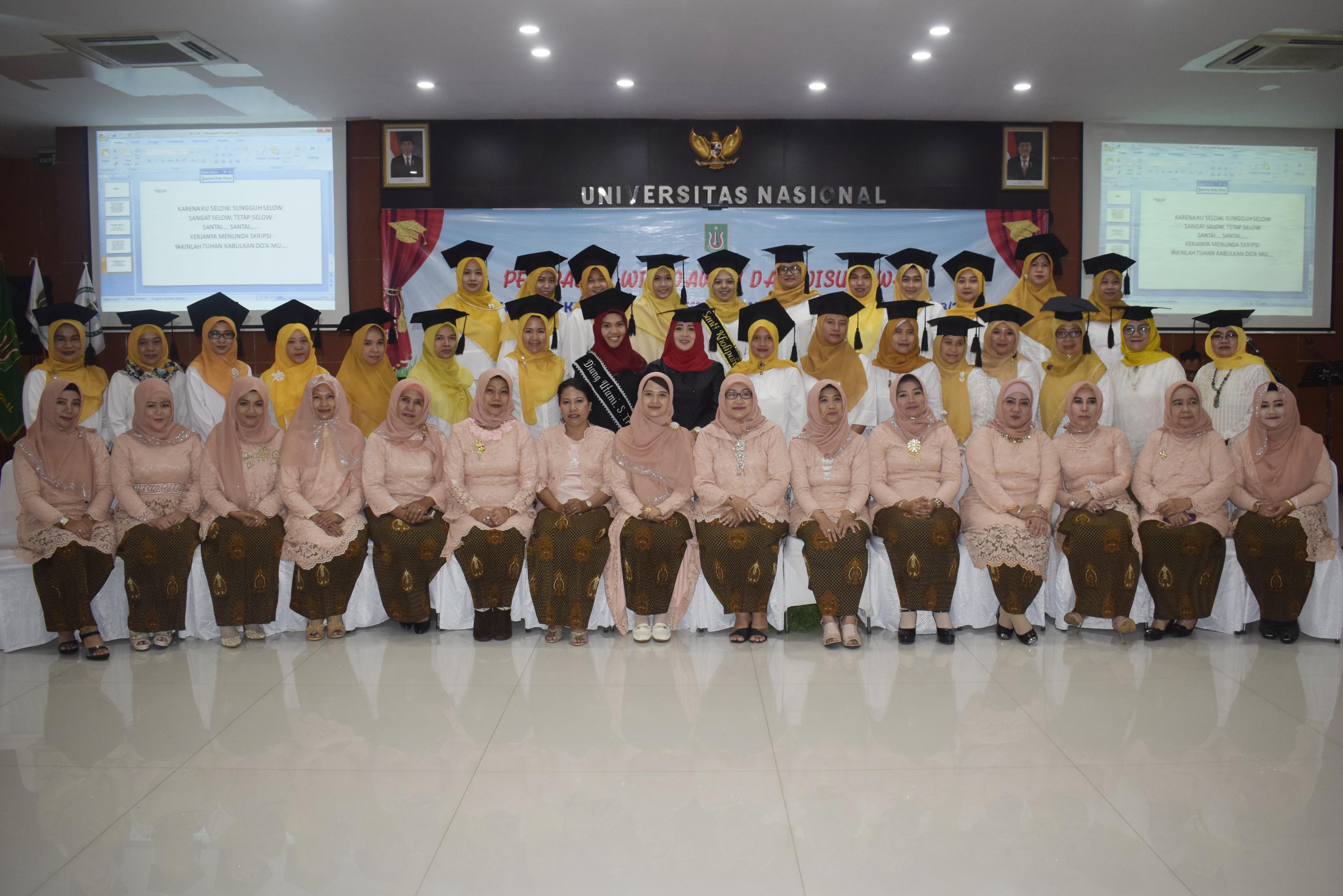 Yudisium Fakultas Ilmu Kesehatan Periode I Tahun Akademik 2018/2019