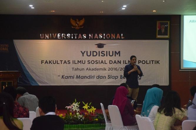 Salah satu alumni yang hadir