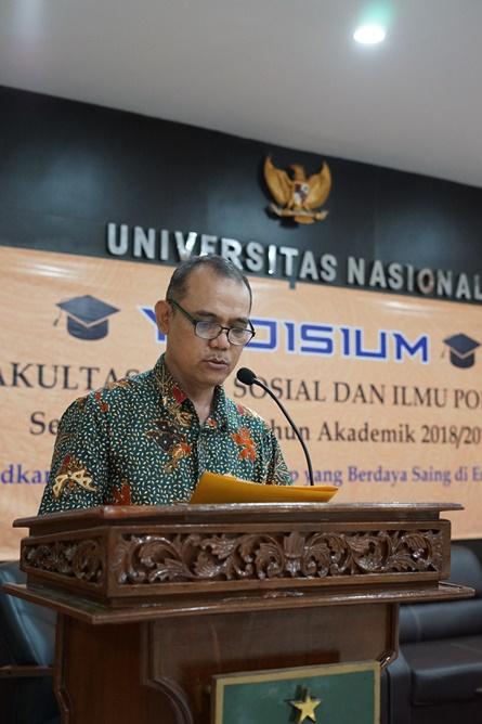 Wakil Dekan Fakultas Ilmu Sosial dan Ilmu Politik Bidang AkademikDr. Ahmad Muksin, M.Si.
