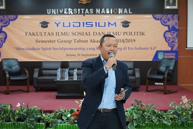 Sekretaris Program Studi Ilmu KomunikasiNursatyo, S.Sos., M.Si