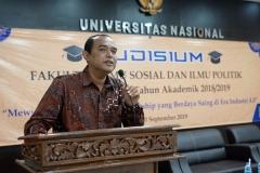Dekan Fakultas Ilmu Sosial dan Ilmu Politik Dr. Zulkarnain, S.I.P., M.Si.