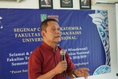 Dosen FTS / Narasumber Prof. Dr. Budi Santoso, M.Sc., Ph.D., APU
