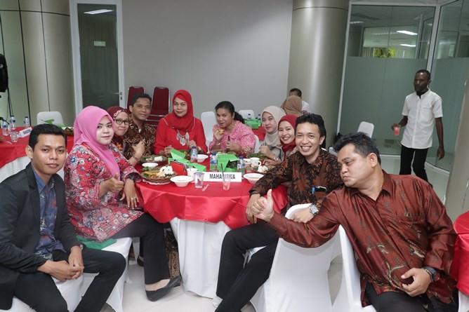 Para peserta yudisium magister administrasi publik
