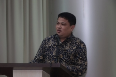 Sekretaris Program studi Magister Administrasi Publik Dr. Zulmasyhur, M.Si.
