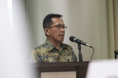Ketua Program studi Magister Administrasi Publik Drs. Rusman Ghazali, M.Si., Ph.D.