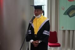 Yudisium Sekolah Pascasarjana Universitas Nasional pada hari Sabtu, 19 Juni 2021