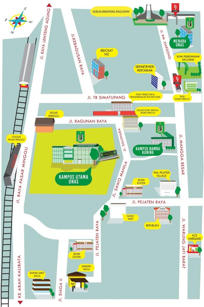 Peta Universitas Nasional