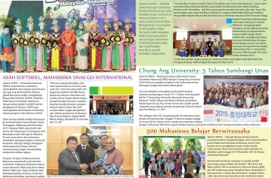 Newsletter UNAS Januari 2016