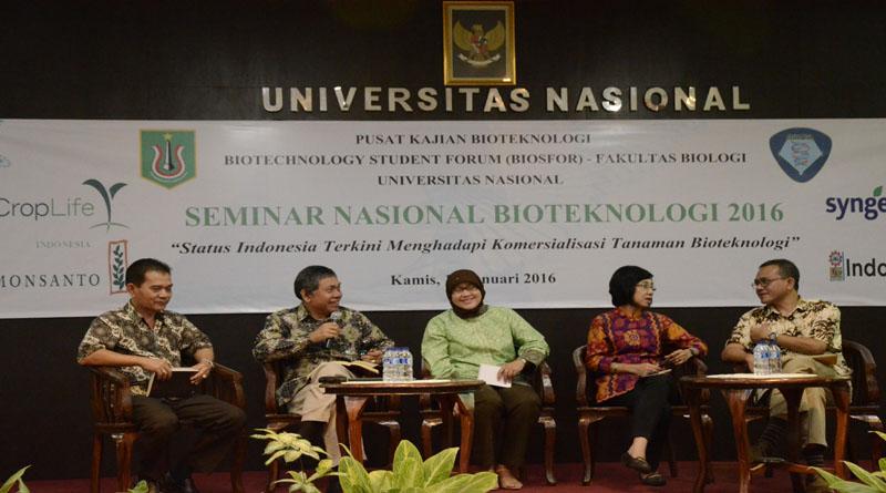 Universitas Nasional Luncurkan Pusat Kajian Bioteknologi