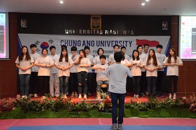 Penutupan Kegiatan Mahasiswa CAU di Unas