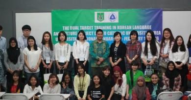 Kerjasama Dengan Daegu, Unas Buka Kursus Bahasa Korea