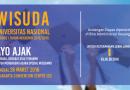 Undangan Wisuda UNAS 2016