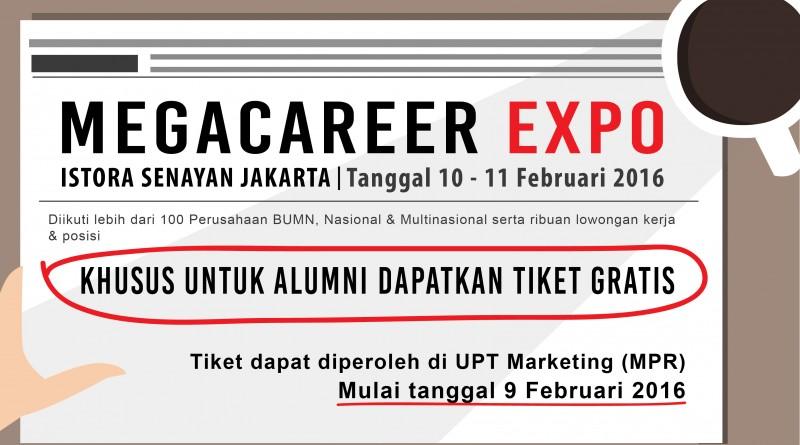 Megacareer Expo Februari 2016