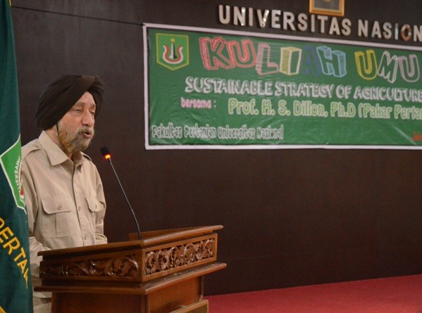 Kuliah Umum Himpunan Mahasiswa Agroteknologi Fakultas Pertanian UNAS