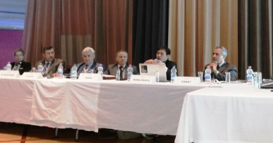 Sesi diskusi tentang Kerjasama International Dunia Islam untuk Lingkungan dan Pembangunan Berkelanjutan, bersama pembicara dari UK, Mesir, Turki, Indonesia, dan Maroko