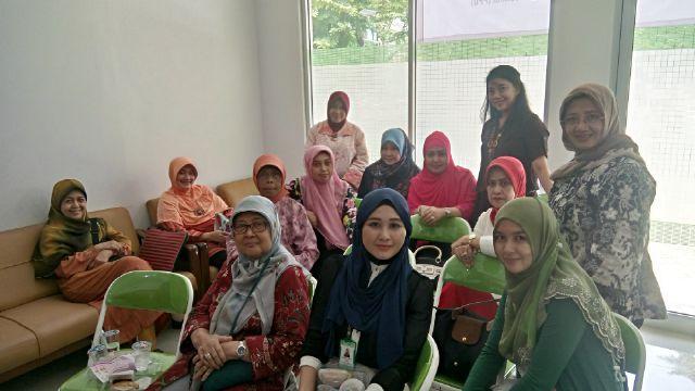 Deteksi Dini Kanker Serviks Ala Paguyuban Perempuan Universitas Nasional