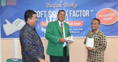 Bedah Buku Soft Skill X Factor  Prof Iskandar : Ini Bagian dari Revolusi UNAS