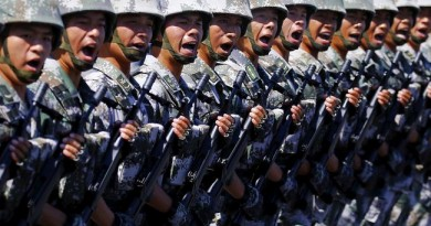 2016, China Tingkatkan Anggaran Pertahanan